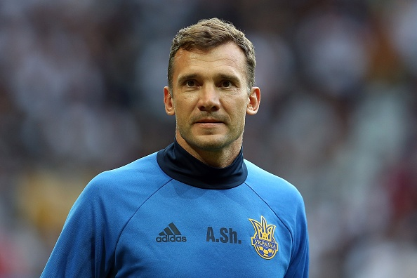 How the Ukraine will wish they had another Andriy Shevchenko in their current squad. (Photo: Chris Brunskill Ltd/Getty Images)
