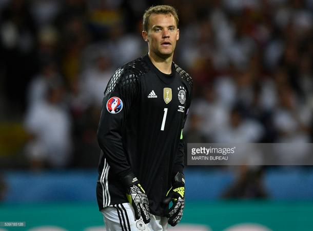 Nuer tem demonstrado uma imensa qualidade neste Euro 2016, sendo um dos principais motivos do apuramento da Alemanha