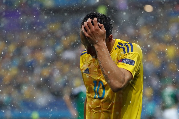 Yevhen Konoplyanka was expected to have a splendid tournament, but things just haven't happened for him and the Ukraine. (Photo: ODD ANDERSEN/AFP/Getty Images)