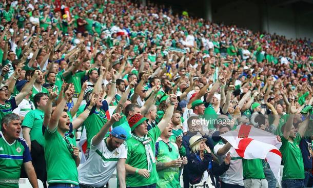 Os adeptos irlandeses têm sido o mais autêntico exemplo de fair play