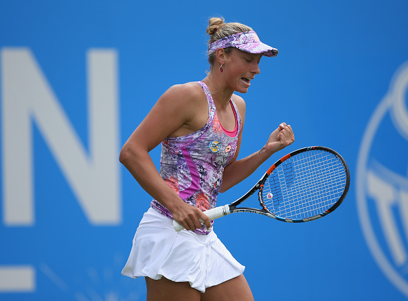 Wickmayer finds the break back | Photo: Steve Bardens/Getty Images