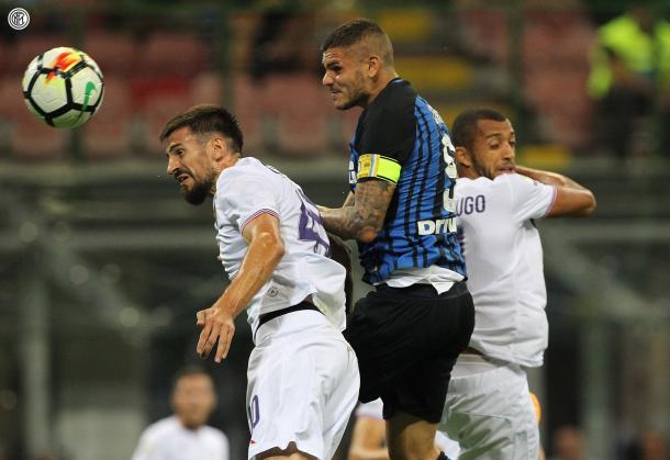 Inter perfetta! 3-0 alla Fiorentina presa a pallonate da Icardi e Perisic