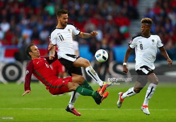 Ricardo Carvalho esteve indiscutivelmente impecável na partida frente à Áustria