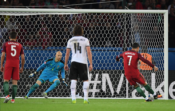 Cristiano Ronaldo capped a nightmare showing versus Austria with a missed penalty (photo:getty)