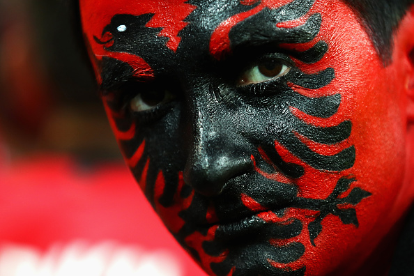 An Albania supporter looks on during the EURO 2016 | Photo: Clive Brunskill/Getty Images