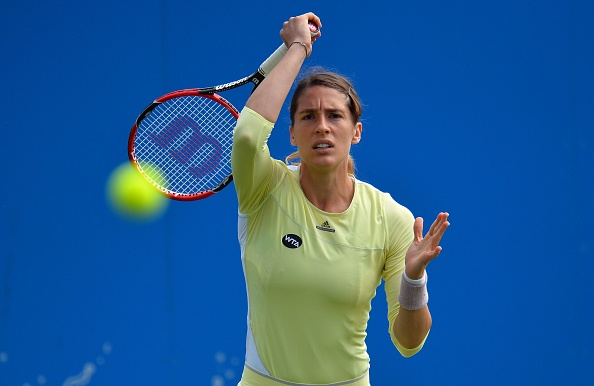 Petkovic takes an important lead in the first set | Photo: Glyn Kirk/Getty Images