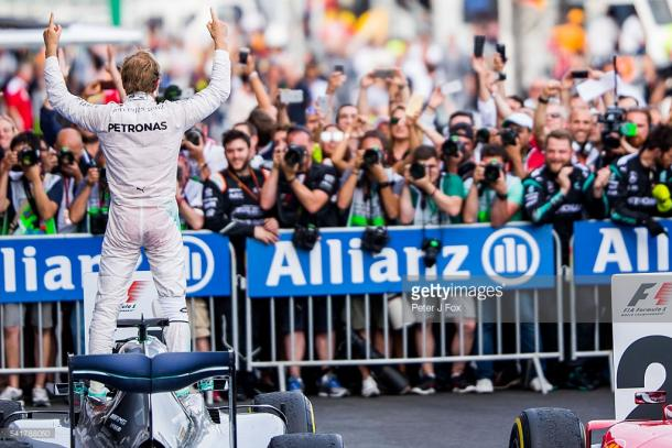 Rosberg won the opening race last year. | Photo: Getty Images/Peter J Fox