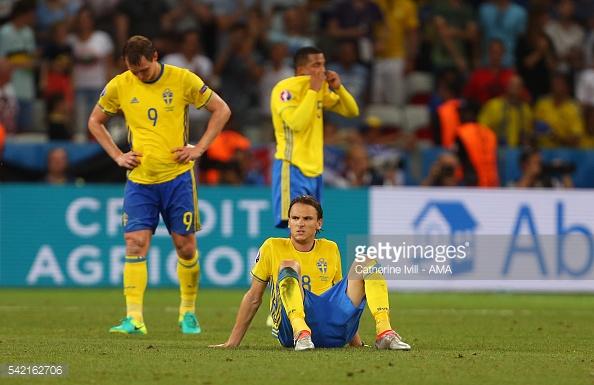 A Suécia disse adeus ao Euro depois de um empate e duas derrotas