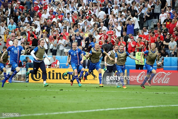 A Islândia surpreendeu tudo e todos neste Grupo F