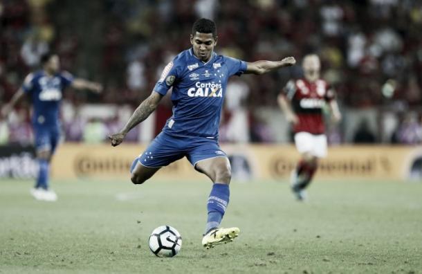 Raniel jogou apenas 5 minutos da final da Copa do Brasil (Foto: Washington Alves/Cruzeiro)