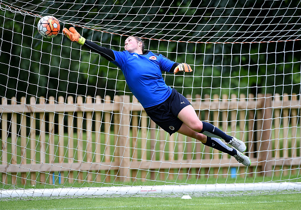 Mary Earps is a brilliant goalkeeper, but could do little about the two goals conceded on Wednesday. (Photo: Tom Dulat - The FA/The FA via Getty Images)