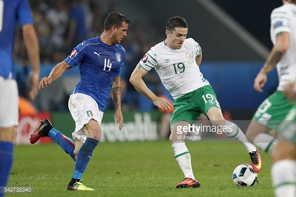 The Irishman in action against Italy (photo: Getty Images)