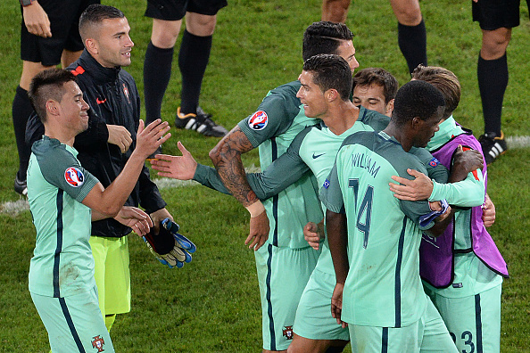 Poland manager Adam Nawałka says that Portugal are a team, not just the Cristiano Ronaldo show. (Photo: FRANCOIS LO PRESTI/AFP/Getty Images)