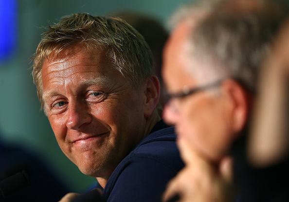 Heimir Halgrímmsson has perfectly outlined the significance of Monday's clash. (Photo: Handout/UEFA via Getty Images)