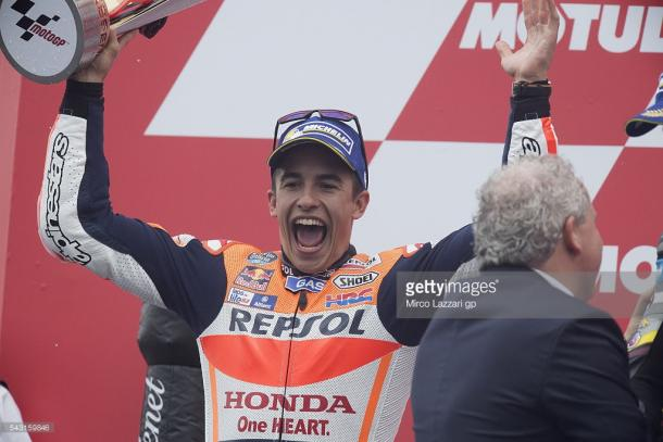 Marquez claimed second at the Assen GP but it felt like a win as he extended his championship lead - Getty Images