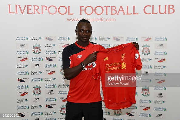 The loss of Sadio Mane turned out to be very damaging. Photo: Getty.