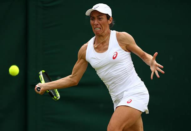 Francesca Schiavone is currently on her final season on tour (Getty/Clive Brunskill)