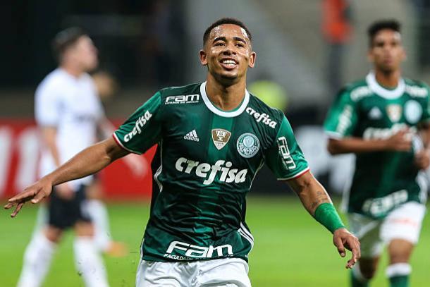 Gabriel Jesus foi campeão da Copa do Brasil e do Campeonato Brasileiro pelo Palmeiras (Foto: Brazil Photo Press / CON / Getty Images)
