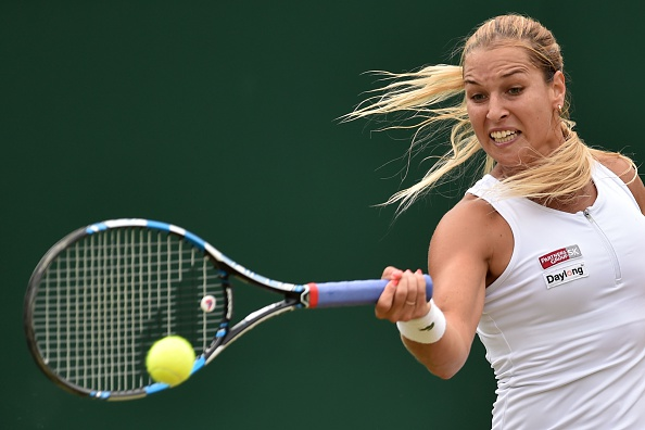 Cibulkova's power dominated large portions of the first two sets (photo:getty)