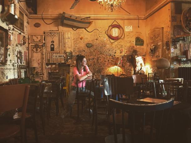 Csendes Vintage Bar | Foto: Instagram Eugene Idle