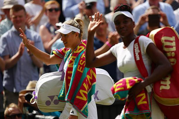 Kerber and Williams faced off in the Wimbledon semifinals in 2016 (Getty/Clive Brunskill)
