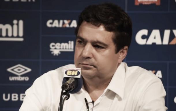 """Itair chamou de """"Fake News"""" as noticias que falavam que o clube estava fazendo um empréstimo (Foto:Foto: Divulgação/Cruzeiro)"""