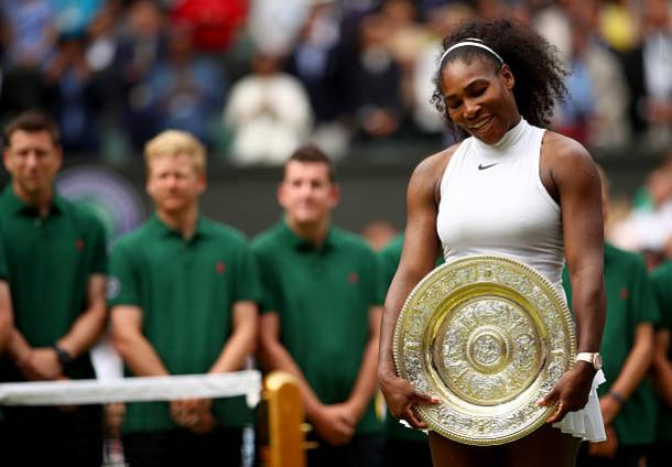 Serena Williams will be aiming for an eighth Wimbledon title (Getty/Clive Brunskill)