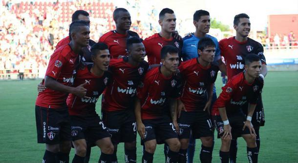 (El último XI utilizado en la pretemporada | Foto: Atlas FC)