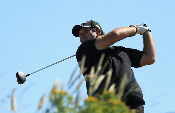 Reed shot an early clubhouse lead after carding a 66 (photo:getty)