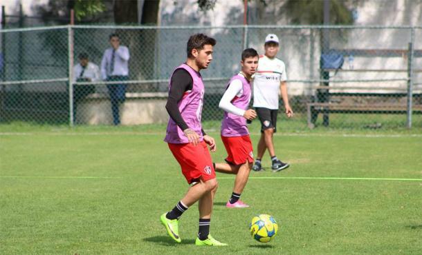 (Uvaldo quiere mostrarse su calidad en México | Foto: Atlas FC)