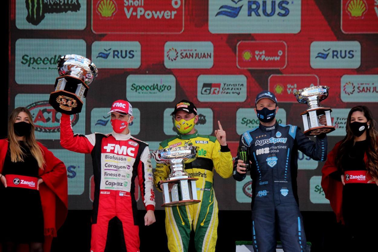 El podio de San Juan: Foto ACTC Argentina