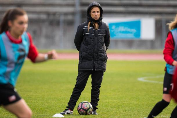 Sarah M'Barek will be hoping that her investment in youth pays off | Source: Nelson Fatagraf-coeursdefoot.fr