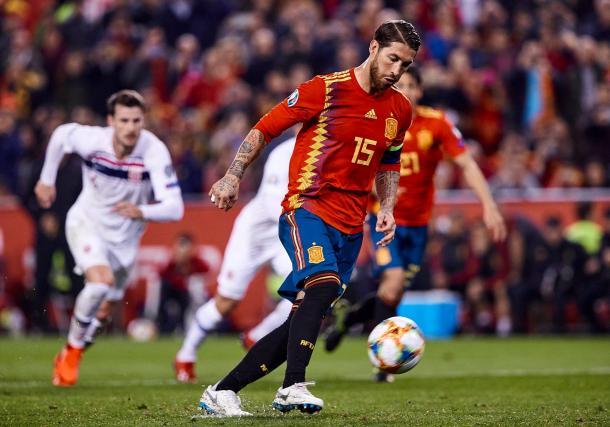 Sergio Ramos, la leyenda vigente   Foto: UEFA