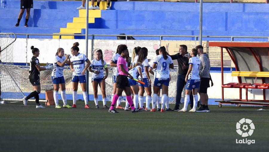 El UDG Tenerife se adelantó en el 25' | Fuente: LaLiga.es