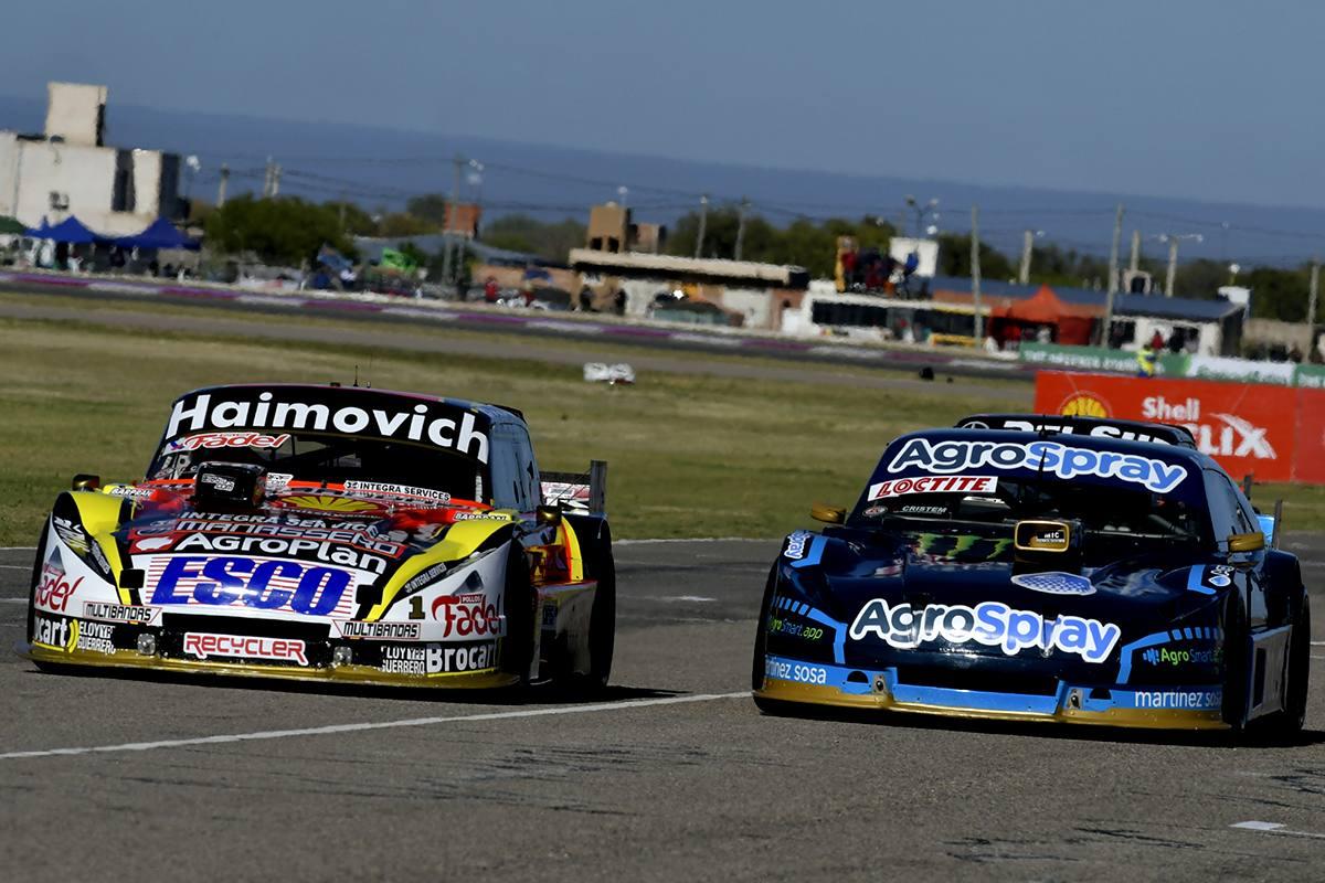 Werner vs Canapino en la relanzada del Gran Premio: Foto ACTC Argentina