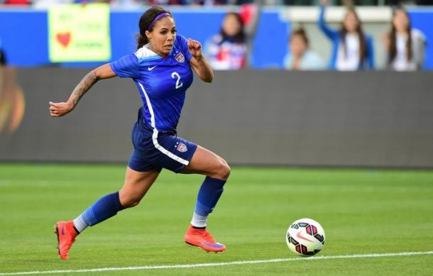 Sydney Leroux will be playing for Orlando this season | Source: Frederic J. Brown-Getty Images