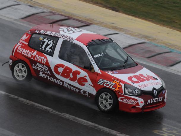 Juan Pablo Koch en pleno transito veloz. Foto: APAT.