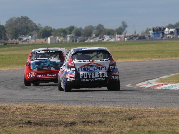 Ortega y Posco en franca pelea por el 1º lugar de la serie más rápida. Foto: APAT.