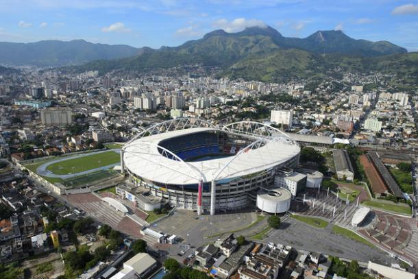 Rio's Olympic stadium. Source: Getty Images