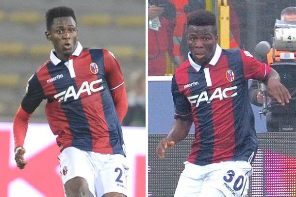 Diawara (L) and Donsah (R) impressed last year | Photo: dailystar.co.uk