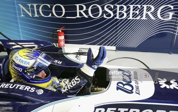 Rosberg made his debut with Williams in 2006. | Photo: Vladimir Rys