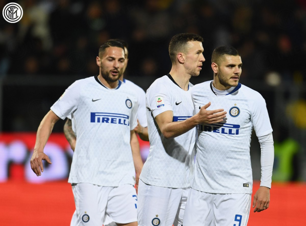 Foto: Twitter oficial Inter de Milán