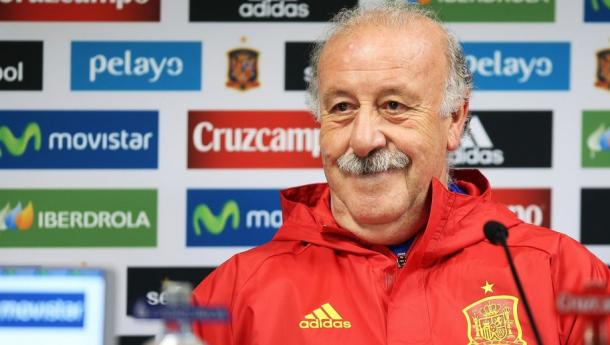 Vicente del  Bosque looking for his third consecutive European Championship. Photo: 90Min