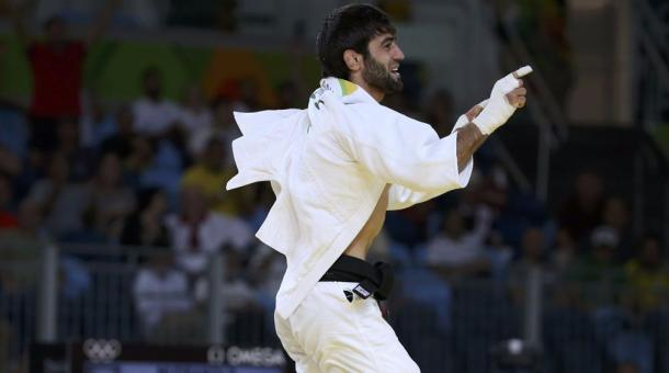 Beslan Mudranov wins Russia's first Rio gold in men's 60kg judo | photo: www.beinsports.com