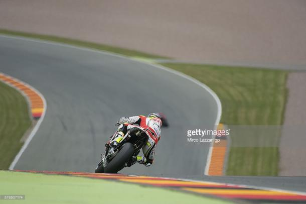 Crutchlow heading down the hill - Getty Images