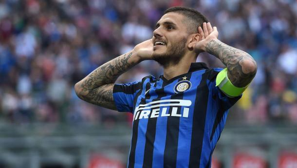 Icardi is said to have a 50 million euro price tag | Photo: 90min.com