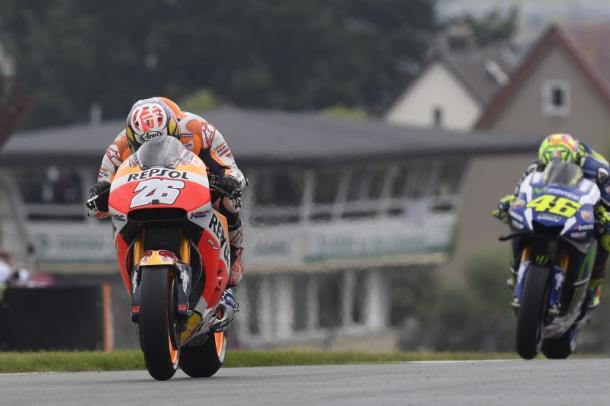 Finishing ahead of Rossi means he has closed the gap in the championship - www.hondaracingcorporation.com