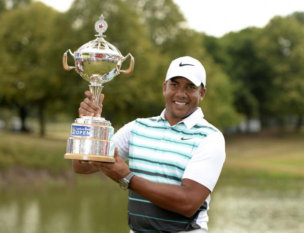 Jhonattan Vegas won his second career PGA Tour event at the RBC Canadian Open this year/Photo: Eric Bolte/USA Today Sports