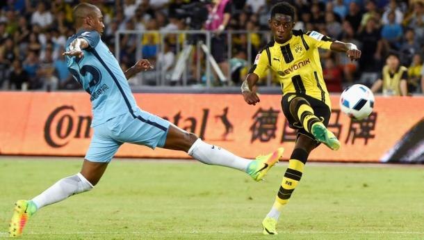 Ousmane Dembele is a talent that Sunderland will need to beware of. (Photo: 90min)