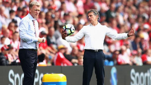 Puel has struggled with his new side so far. Photo: 90min